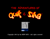 Adventures of Quik and Silva, The